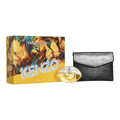 KENZO WORLD POWER EAU DE PARFUM 50ML + FASHION POUCH SET