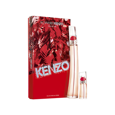 FLOWER BY KENZO EAU DE VIE 100ML + TRAVEL SPRAY 15ML SET
